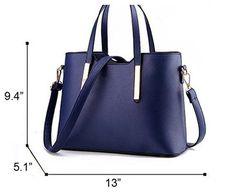 Forkidlove® Women's Top-handle Handbags Ol Casual Tote Shoulder Crossbody Bag Satchel Purse (Beige)