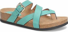 Look at this Söfft Aqua Wrap Brooke Leather Sandal on today! Me Too Shoes, Shoe Boots, Shoes Sandals, Thing 1, Womens Slippers, Ladies Slippers, Shoe Closet, Slide Sandals, Flat Sandals