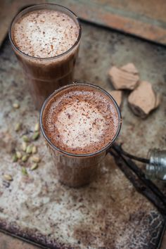 spiced hot chocolate latte by Wild Food Cafe © Aiste Lei Photography
