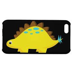 Yellow Stegosaurus iPhone 5C Case
