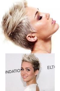 I can't handle her perfection Cut Her Hair, Love Hair, My Hair, Hair Cuts, Pixie Haircut Color, Miley Cyrus, Pixie Cut, Short Hair Styles, Hair Beauty