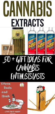 Marijuanna is being legalized all over the world and is being recognized for its medicinal benefits. Check out this guide of over 50 Gift ideas for the Cannabis Enthusiast. #420 #ad #cannabis #marijuana Best Gift Ideas For Stoners // What To Buy For Someone Who Smokes Weed // Medical Marijuana Supplies