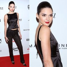 Kendall Jenner in a Tiny Skirt Gets Perved On at Book Launch