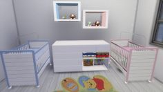 Lena Sims: TS4 - Set Baby Room Die Sims, Sims Cc, Sims 4 Toddler, Toddler Toys, Boy Room, Kids Room, Random Kid, Sims 4 Bedroom, Sims 4 Gameplay