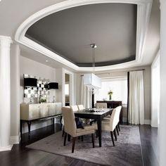BM Kendall Charcoal ceiling; walls Barren Plain