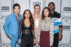 """Build Series Presents Dacre Montgomery, Naomi Scott, RJ Cyler, Becky G and Ludi Lin Discussing """"Power Rangers"""" Power Rangers Cast, Power Rangers 2017, Naomi Scott, Becky G, I Have A Crush, Having A Crush, Rj Cyler, 90s Inspired Outfits, Dacre Montgomery"""