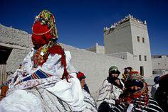 Africa | Berber wedding.  Imilchil, High Atlas region, Morocco | ©Kazuyoshi Nomachi