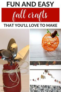 32 Best Easy Crafts Images In 2019