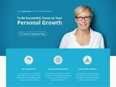 Business Coach Landing Page by Marcel Mädche