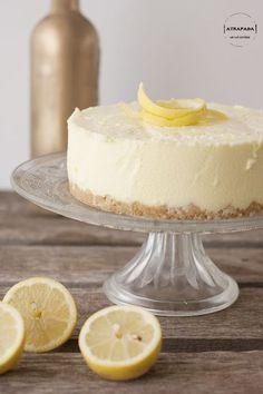 Tarta de limón (sin horno)