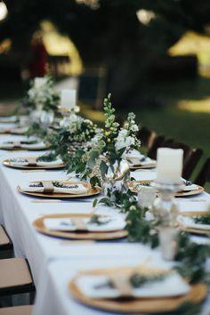 Romantic backyard Texas wedding | Photo by Juliane Masciana | Read more - http://www.100layercake.com/blog/?p=82644