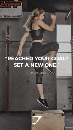 """""""Reached your goal? Set a new one."""" - Michael John Bobak. #Gymshark #Quotes #Motivational #fashionphotographer #fashionphotography #trendy #womensfashion #fashiondesigner #couture #trends #fashionindustry #mua #makeupforever Sport Motivation, Fitness Motivation Pictures, Health Motivation, Weight Loss Motivation, Exercise Motivation, Quotes Motivation, Yoga Inspiration, Fitness Inspiration Quotes, Fitness Quotes"""