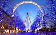 Londons Eye Photography Abstract Background Wallpapers on