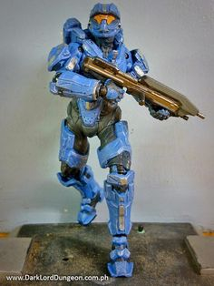 Presenting from McFarlane Toys, SPARTAN Gabriel Thorne, the main character of the SPARTAN Ops series of Halo 4 where he served as a rifleman in Fireteam Majestic. #HALO #HALO4 #Spartan #SpartanThorne #GabrielThorne #Review