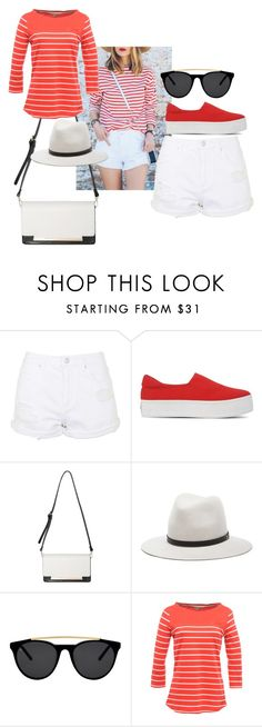 """Untitled #34"" by afsana-khan ❤ liked on Polyvore featuring Topshop, Opening Ceremony, rag & bone, Smoke x Mirrors and Regatta"