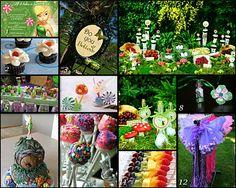 Disney Donna Kay: Disney Party Board - Pixie Hollow Party