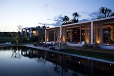 bali-based firm word of mouth has completed the 'villa tantangan', a single family residence in a remote location of nyanyi beach  on the western coast of bali, indonesia