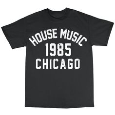 House Music Chicago 1985 T-Shirt 100% Cotton Frankie Knuckles Larry Levan | eBay