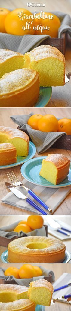 Senza uova, latte e burro. Sweet Recipes, Cake Recipes, Dessert Recipes, Tortillas Veganas, Kolaci I Torte, Torte Cake, Sweet Cakes, Yummy Cakes, Italian Recipes