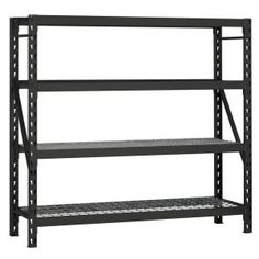 77 In. W X 78 In. H X 24 In. D Steel Commercial Shelving Unit