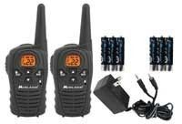 Midland #RADIO 22-Channel 18-Mile FRS/GMRS Two-Way Radio #Walkie #Talkie HANDS #FREE : Midland's LXT114VP 2-Way Radio provides clear communication in any outdoor setting or open space, with an 18 mile range and 22 channels. Handy features like keypad lock, eVOX for hands-free operation, auto squelch, and dual powering options make it a great choice for your basic two-way needs.