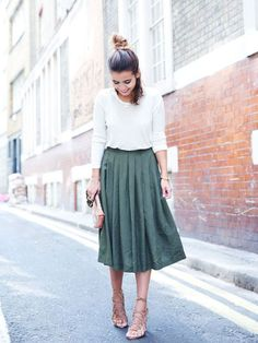 Fashion Fix: Midi rok