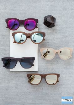 The TRAVELER by TOMS collection helps you give a gift and the gift of sight this holiday season.