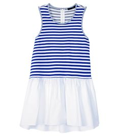 Tibi Racetrack Stripe Sleeveless Top - Shop more nautical styles for a sailor-chic summer look. http://www.harpersbazaar.com/fashion/fashion-articles/nautical-summer-apparel