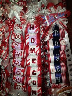 Unique Custom Homecoming Mums Specializing in Individuality. $275.00, via Etsy.