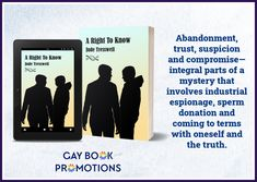 Industrial Espionage, S Shock, Egg Donation, Love Conquers All, Book Title, Bad News, Mystery, Gay, Books