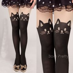 I find an excellent product on @BornPrettyStore, 1 Pair Hot-Sell Lovely Cartoon Cats Patterned... at USD $7.49. http://www.bornprettystore.com/-p-9476.html