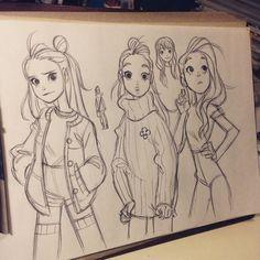 #sketching by anna_cattish