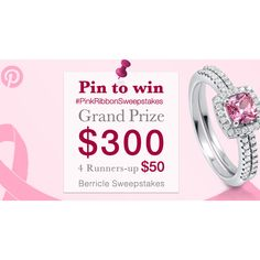 Enter #BerriclePinToWin for a $500 Shopping Spree! Enter here >>http://www.berricle.com/giveaway #PintoWin #Sweepstakes #JewelrySweepstakes