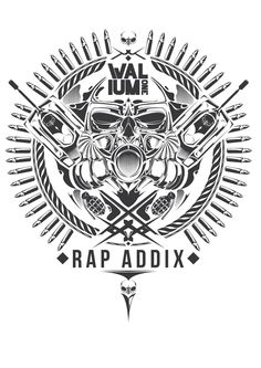 Valium Clothing // Graphic vector   -rap addix #Valium_one #Graphic #Graphic_vector #Street_wear