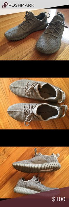 Yeezy boost 350 moonrock sz 9.5 new UA Rep UA Rep Yeezy Boost 350 Moonrock US men's size 9.5. True to size. New without box. Same day shipping. Shoes Sneakers