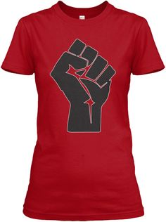 Fist Up (Red and Black)