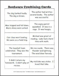 Printables Sentence Fluency Worksheets another worksheet that helps students with sentence fluency it archives the reflective educator