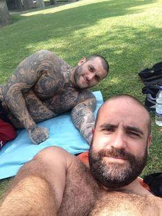Hairy Bears. Men. Beards. Ink.