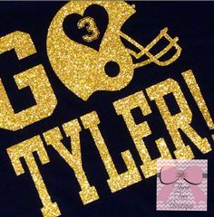 I Absolutely adore our new Over the Top Football T-Shirts. This listing is for a short sleeve Sassy bling Glitter oversized football design tee. Football moms, girlfriends, grandmothers, aunts, sisters, etc. if you LOVE bling this is your t-shirt!!! This tee shines so much it will blind the other team :). This would also look cute with your favorite football team name and you can delete the number…