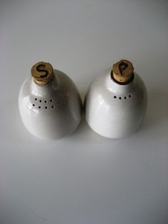 Heath Ceramics Salt and Pepper Shakers