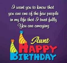 Birthday Wishes For Aunt: Aunt is an important person in our life. If today is her birthday then we should wish her with best happy birthday wishes for aunt. Send her special birthday on her special day. Birthday Quotes For Aunt, 40th Birthday Wishes, Best Happy Birthday Quotes, Birthday Presents For Grandma, Birthday Card Pop Up, Birthday Cards For Mom, Happy Birthday Fun, Birthday Gift For Him, Birthday Messages