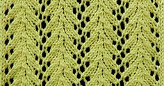 Vine lace is a simple four-row lace pattern and is my current favorite stitch pattern! Glad to see someone else using it!  Cast on a mult...