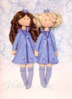 ღVictoria Alexღ Интерьерные куклы ручной работыღ | VK