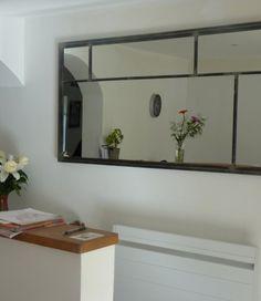 Miroir notos 250cm art industriel miroir industriel for Miroir artisanal