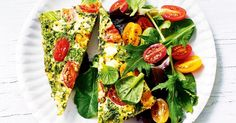 Low-cal, gluten-free and vegetarian too, this frittata has it all.