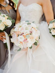 Classic peony, ranunculus and rose wedding bouquet: Photography: Merari Photography - merari.com   Read More on SMP: http://www.stylemepretty.com/2016/11/02/classic-central-park-boathouse-wedding-2/