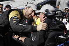The 100th running of the Indy 500, James with car owner Sam Schmidt.  --  All James Hinchcliffe wanted this week was a good car -- PCH Frontpage