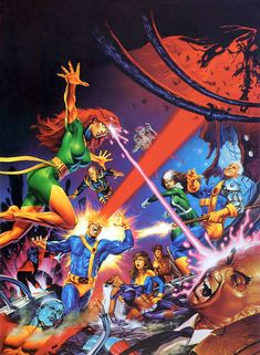 joe jusko - x-men's greatest battle