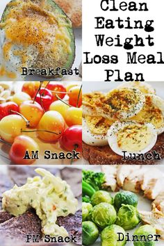 Click pin for daily clean eating and weight loss meal plans - your free healthy weight loss help! #cleaneating #diet #weightlosshelp