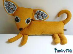 Chichi-Wawa le Chihuaha, doudou chien personnalisa